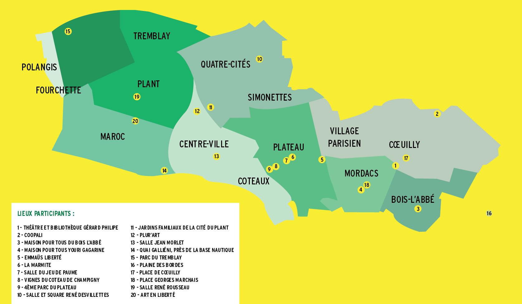 Programme par quartier et plan champigny en transition - Son et video champigny sur marne ...